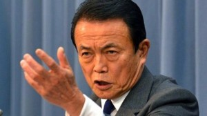 Japanese-finance-minister-Taro-Aso-speaks-at-a-press-conference-in-Tokyo-on-Janaury-15-2013-AFP_File-Yoshikazu-Tsuno-e1358769812842